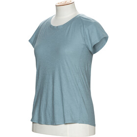 Alchemy Equipment Organic Fitted Tee Dame powder blue